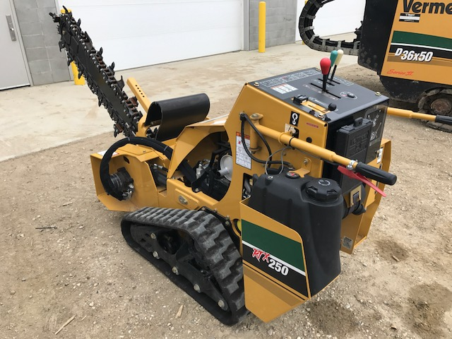 RTX 250 Trencher