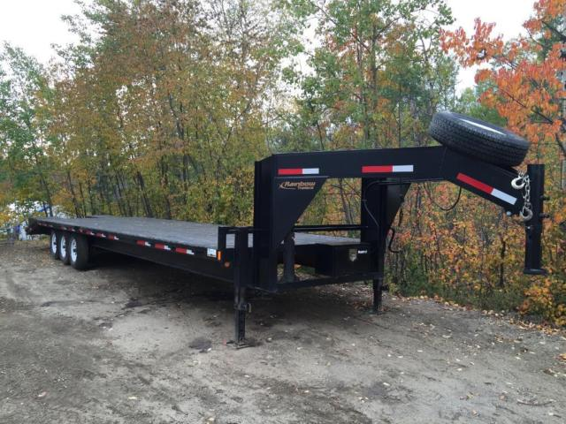 flat trailer bed