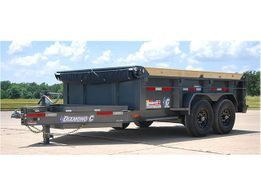 2018 Roadclipper 24 LPD-L 7 X 14 Dump Trailer